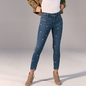 Abercrombie & Fitch Highrise super skinny jeans